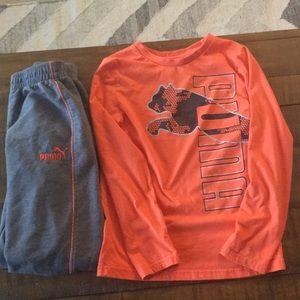 Puma Boys outfit